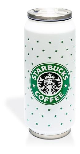 vaso térmico starbucks coffee tipo lata 480 ml | estrellas