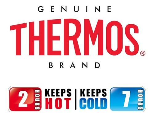 vaso termico thermos 600ml acero inoxidable antiderrame