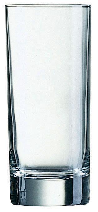Vaso tubo de vidrio transparente reforzado 29 90 en for Vidrio plastico transparente precio