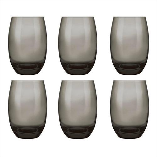 vaso vidrio 465 ml santa marina aruba x 6 unid.