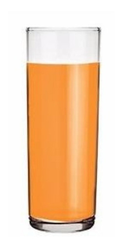 vaso vidrio agua gasosa tubo trago largo fiesta 327cc oferta