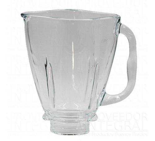 vaso vidrio licuadora y tapa trebol boca ancha oster origina