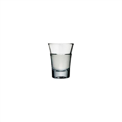 vaso vidrio shot 60 ml boston x 6 unid.
