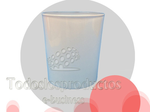 vaso whisky  blanco o satinado cristal sublimar sublimacion