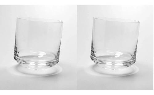 vaso whisky cristaleria san carlos p/ mareado x2 unidades
