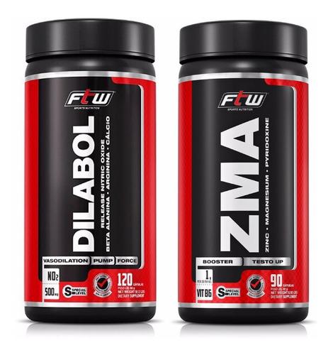 vasodilatador no2 dilabol + zma estímulo testosterona - ftw