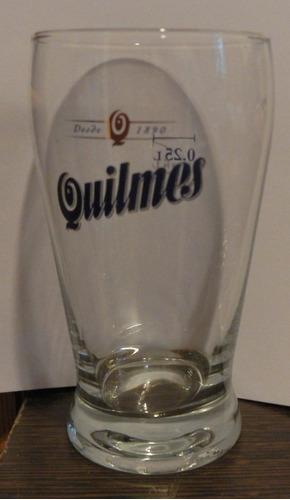 vasos  cerveza quilmes modelo murphy  x  unidad