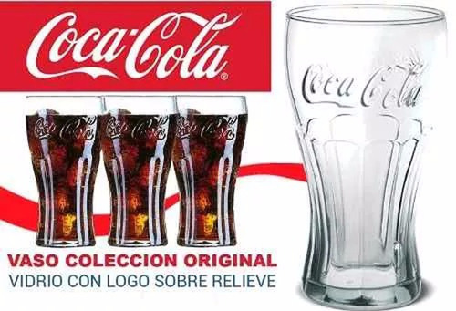 vasos coca cola contour flint promo 2016 caja x 12