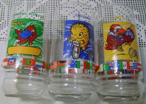 vasos coca cola sidney 2000