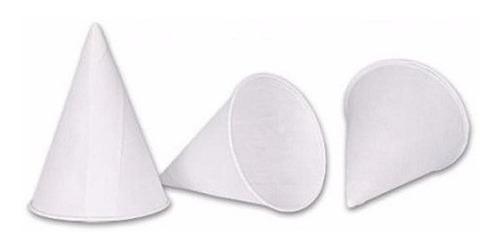 vasos cónicos de papel