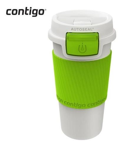vasos contigo morgan snapseal 12oz cafe / té - verde