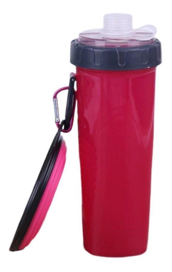 Vasos De Agua De Dos Usos Con Cuencos Plegables De Silicona