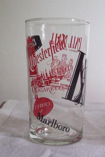 vasos de bar pintados al esmalte- todos $650