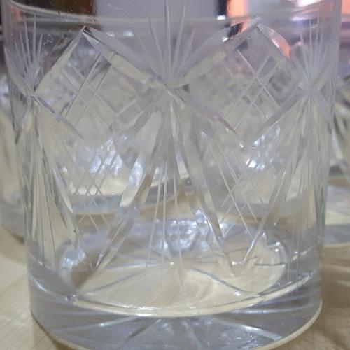 vasos de cristal tallado para whisky precio unidad