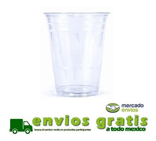 vasos de plástico tipo cristal 16 onzas con 1000 piezas