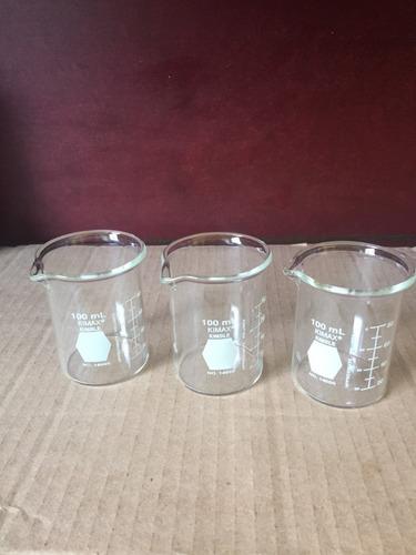 vasos de precipitado de 100 ml. kimax