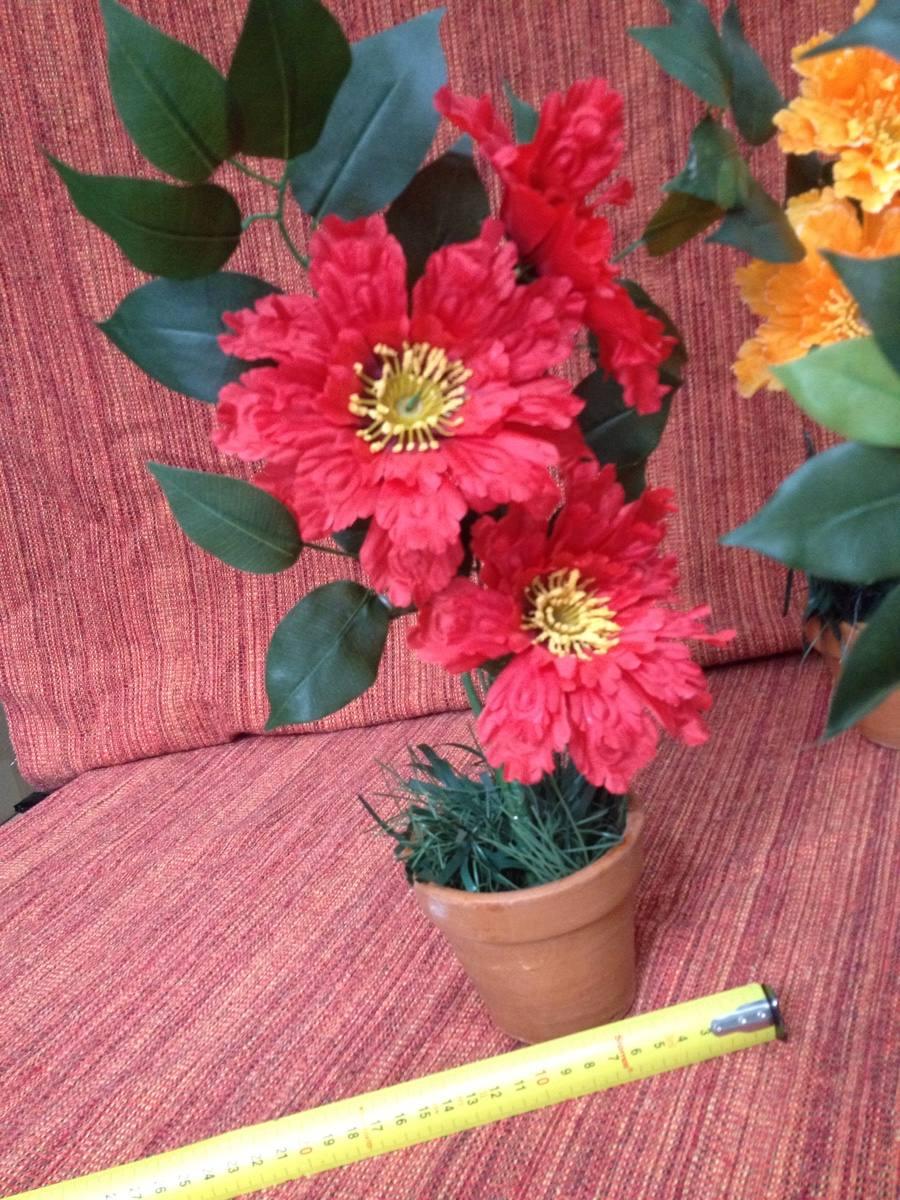 Vasos Decoração Com Flores Artificiais  R$ 8,80 em Mercado Livre -> Decoracao Banheiro Flores Artificiais