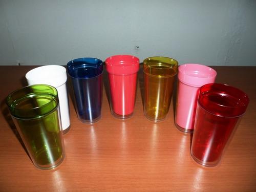vasos doble fondo , imprime tu mismo la imagen o motivo