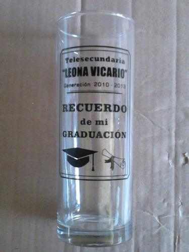 vasos highball impresos serigrafia recuerdo graduacion