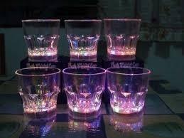 vasos luminosos led tipo whisky, solo envios excelenteprecio