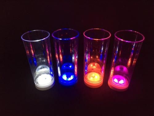 vasos luminosos led x 60 unidades