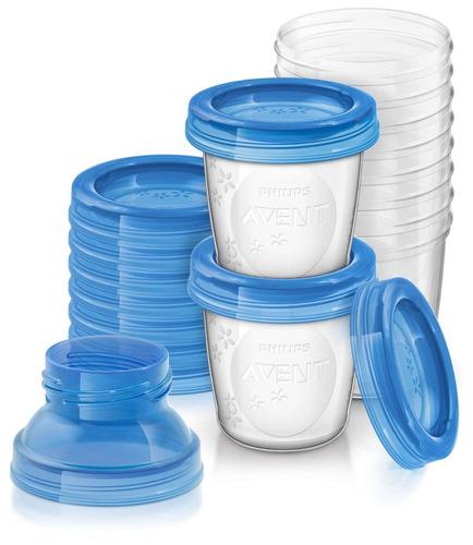 vasos para conservar leche avent (8165)