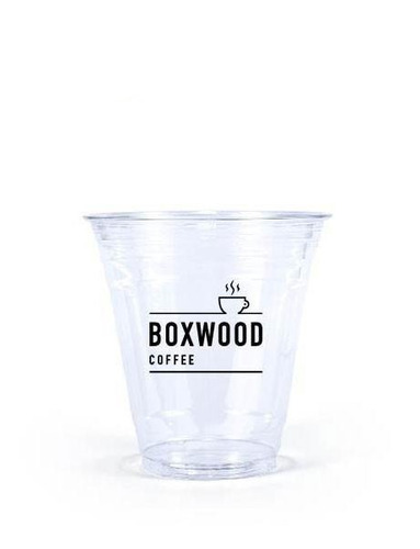 vasos para frappe 12 oz 1000 pz impresos 1 tinta
