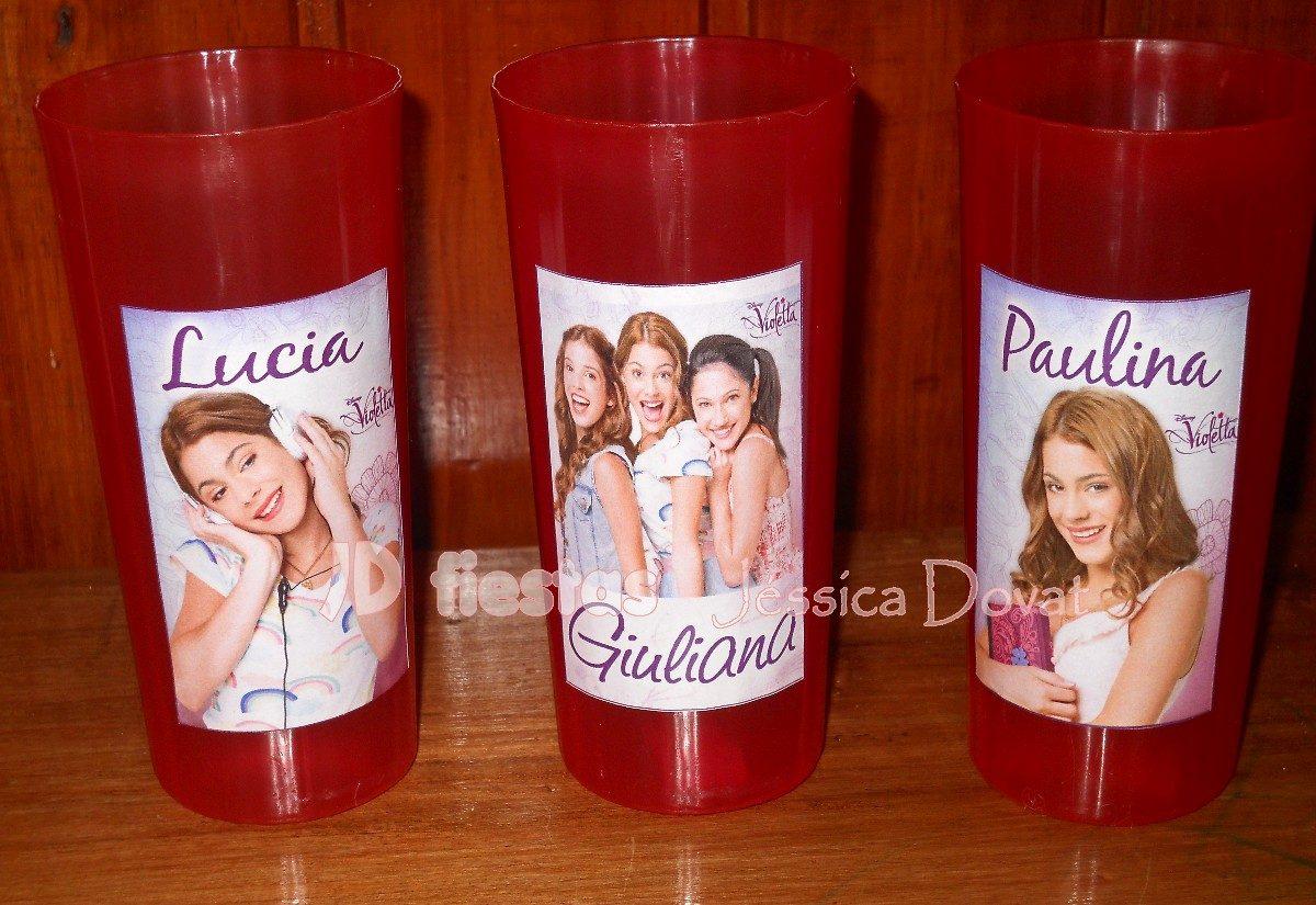 Vasos personalizados souvenir cumplea os 15 00 en mercado libre - Vasos personalizados ...