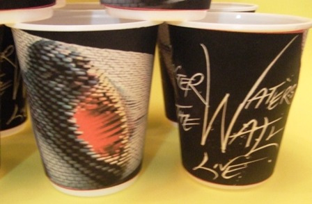 vasos pink floyd the wall!!!