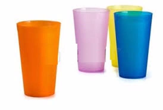 Vasos plasticos de colores samana bs 50 00 en mercado libre - Vasos de colores ...