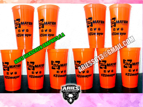 vasos plásticos personalizados impresos