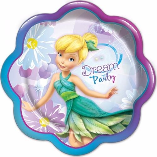 vasos platos bolsas todo para fiesta campanita tinkerbell