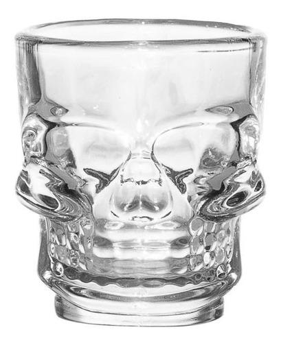 vasos shots calavera 6 unidades