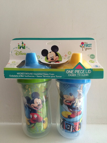 vasos térmicos mickey y minnie mouse