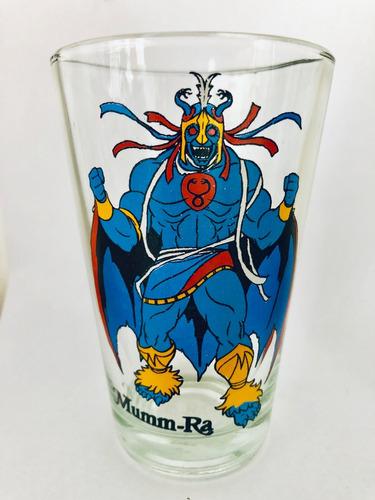 vasos thundercats he-man motu simil pepsi marvel super heroe