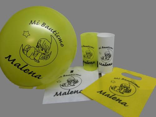 vasos trago largo - acrilico - personalizados x 50