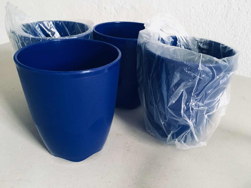 vasos tupperware (4 piezas)