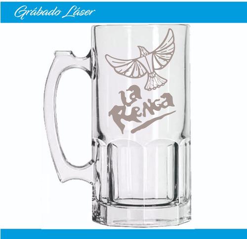 vasos vidrio 1 litro personalizado vaso chopp cerveza fernet