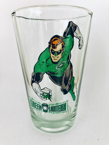 vasos vidrio simil pepsi super amigos batman superman dc