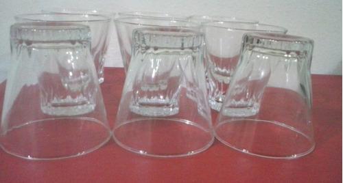 vasos vintage.decadadel70.vidrio bien delgado.