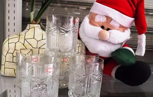 vasos wiskeros de cristal