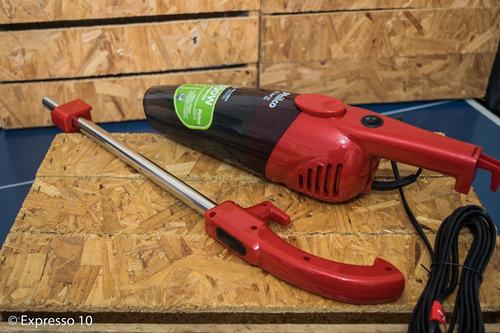 vassoura elétrica + aspirador de pó vertical philco 1000w