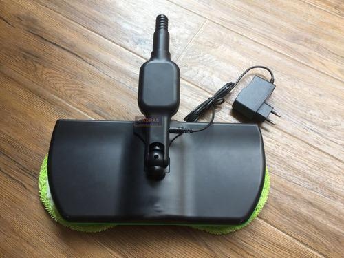 vassoura elétrica recarregável limpa piso chão parede oferta