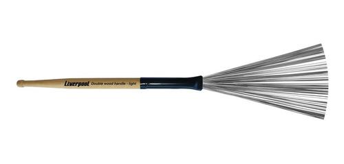vassourinha de aço double wood handle light liverpool va 210