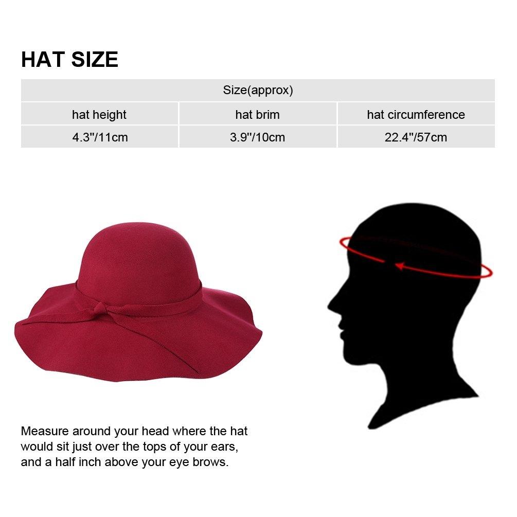 34a8fb54e72f4 vbiger fedora sombrero floppy hat bowler hat sombrero de la. Cargando zoom.