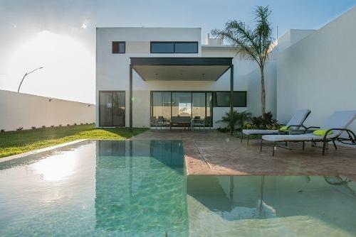 vbr-17004 hermosas casas en preventa en páramo residencial en cholul