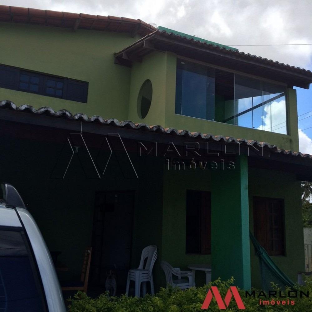vc00719 casa duplex  em ponta negra