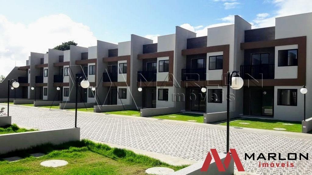 vc01208 casa condomínio fechado nova parnamirim