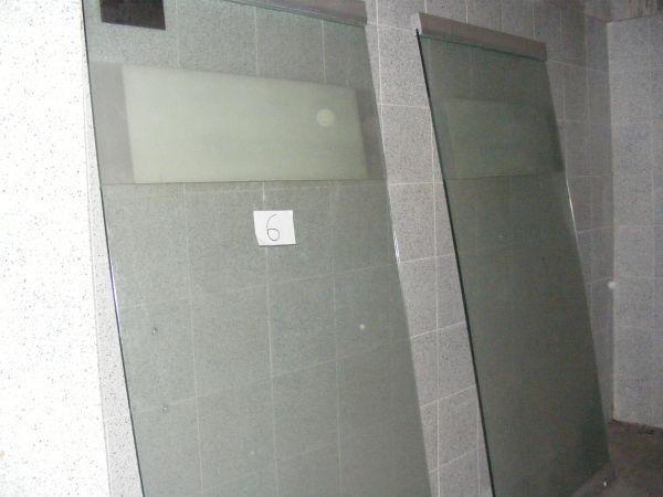 V cambio cristal templado de 12mm puertas barandal mesa - Quitar cristal templado ...