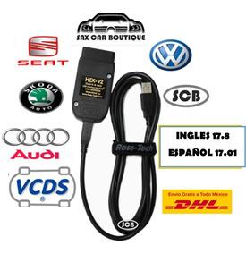 Vcds 2018 Ross Tech Vw Audi Seat Escaner 17 8 Ingles Vagcom
